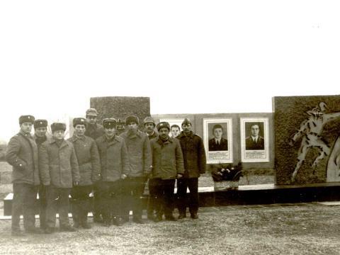памятник погибшим пожарникам
