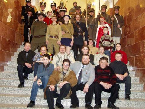 мои коллеги и друзья по музею