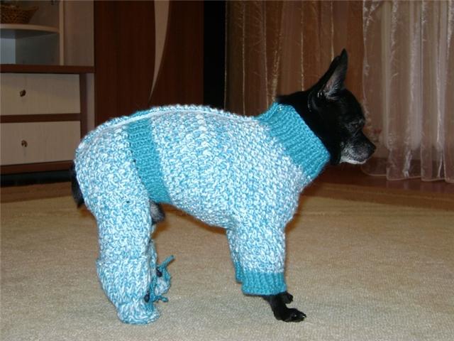 Вязание Для Собак С Описанием