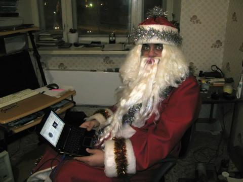 компьютерный Дед Мороз