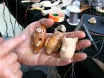 глиняные свистульки Звери